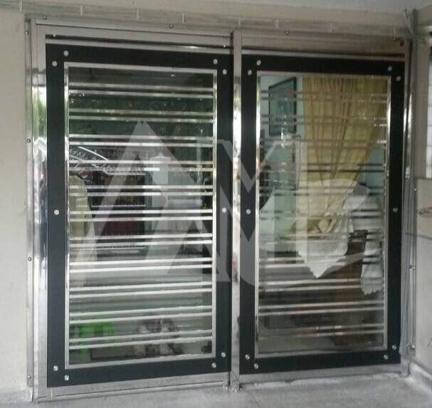 Stainless Steel Door 043