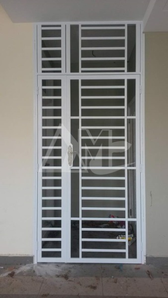 Powder Coated Metal Door 021