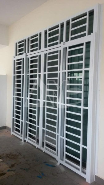 Powder Coated Metal Door 022