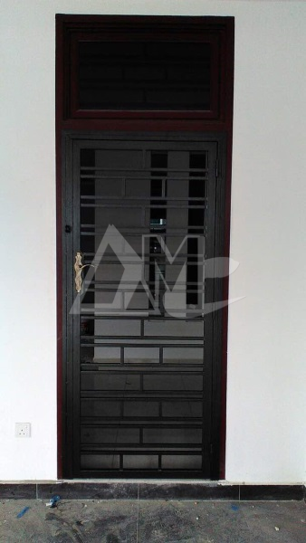 Powder Coated Metal Door 026