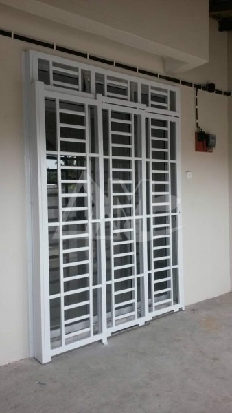 Powder Coated Metal Door 031