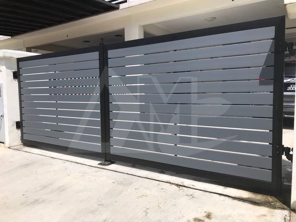 Powder Coated Metal Gates 002