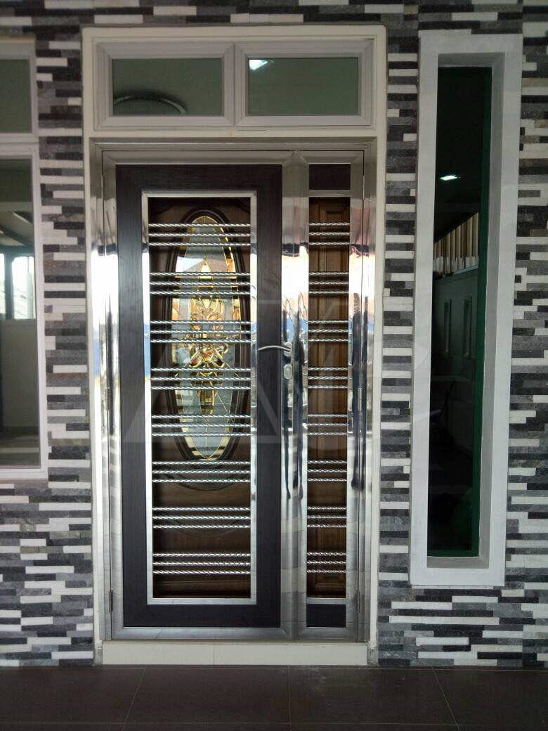 Stainless Steel Door 014