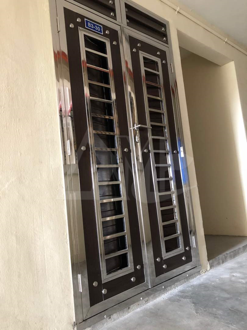 Stainless Steel Door 015