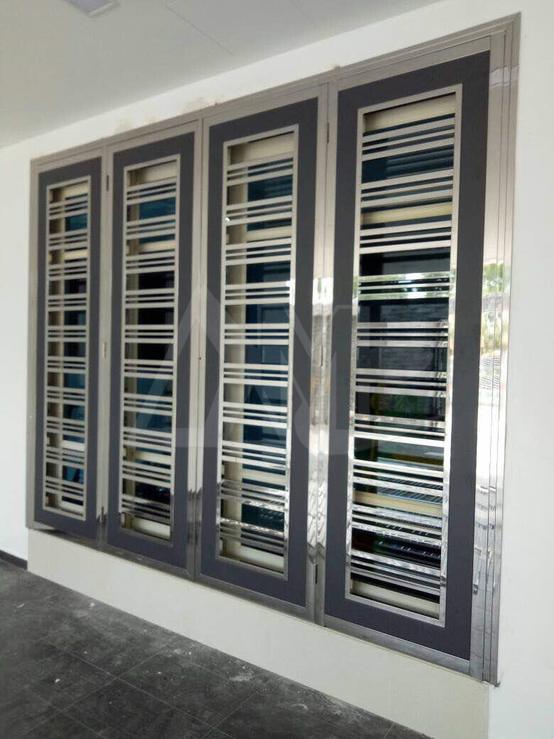Stainless Steel Door 016