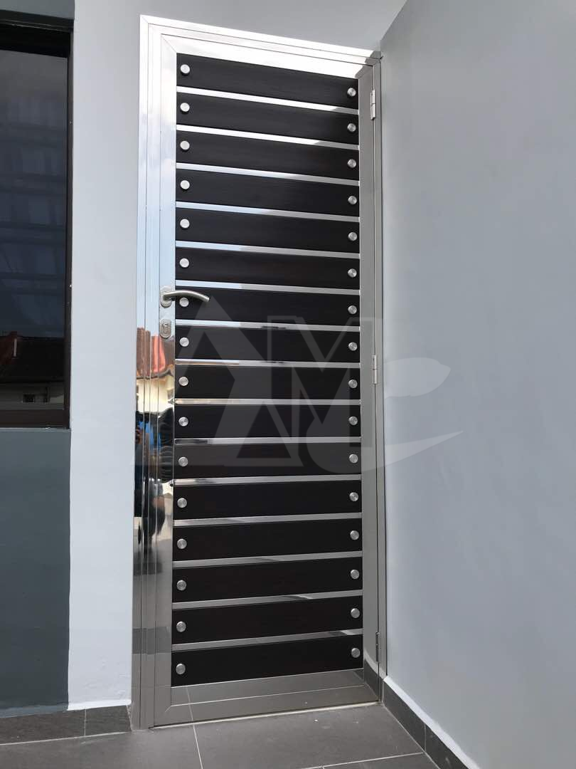Stainless Steel Door 028