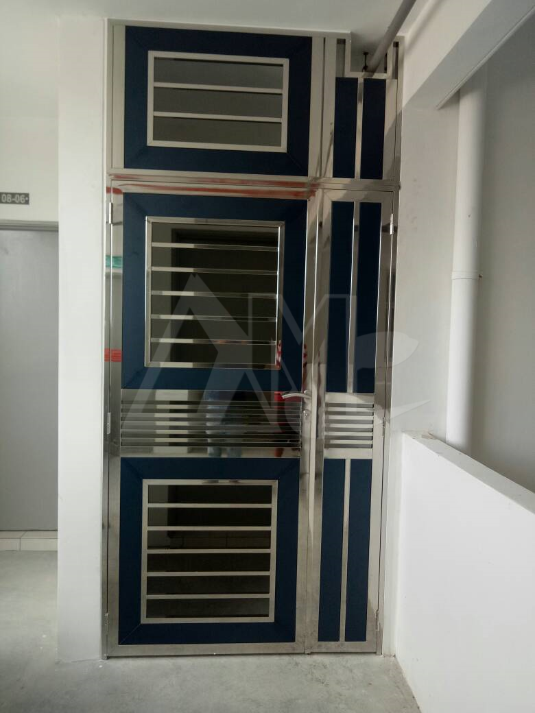 Stainless Steel Door 035