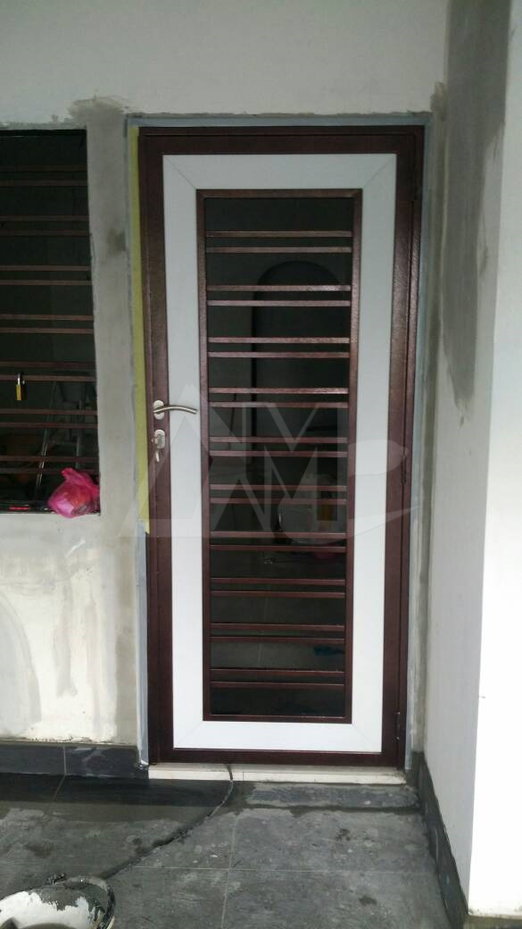 Powder Coated Metal Door 041