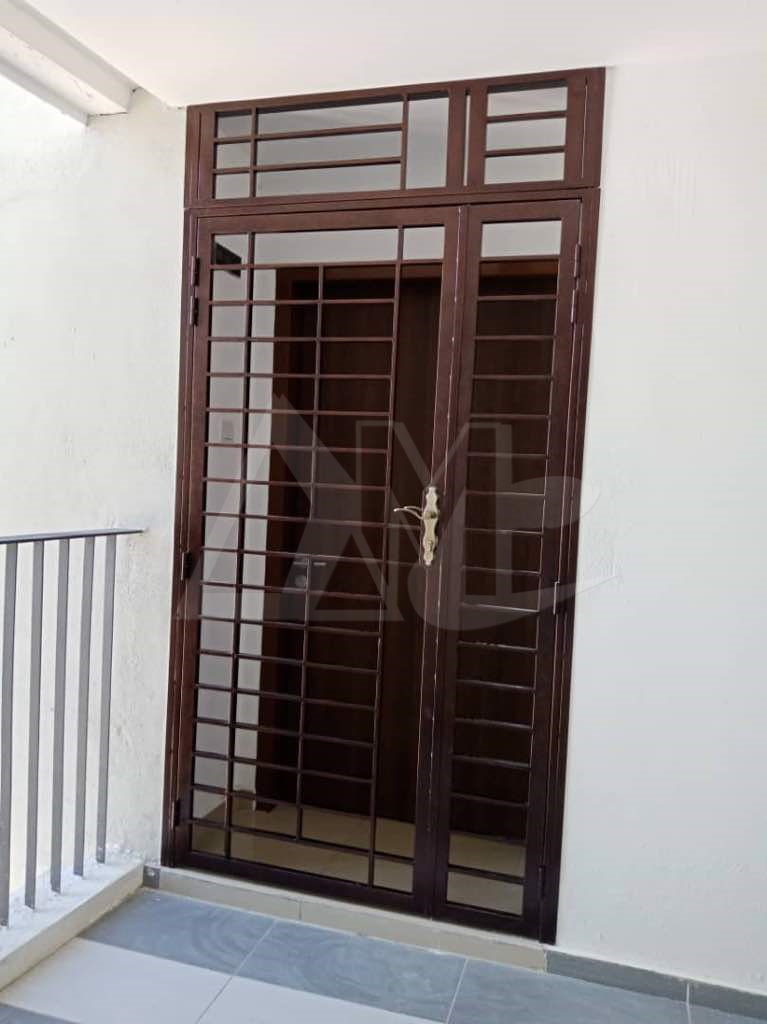 Powder Coated Metal Door 047
