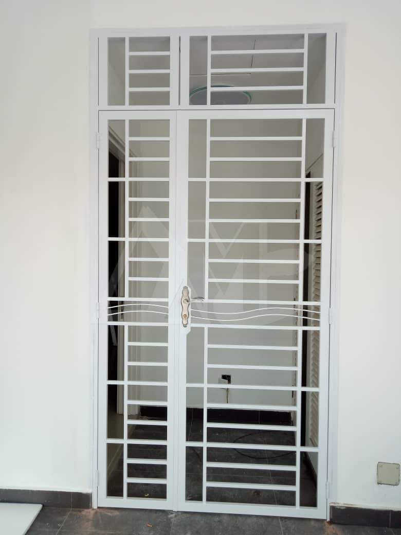 Powder Coated Metal Door 034