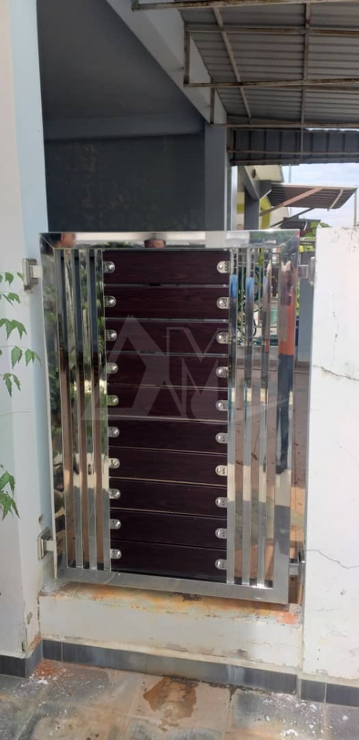 Stainless Steel Side Fence 003
